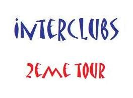 INTERCLUBS 2e TOUR - les POULES