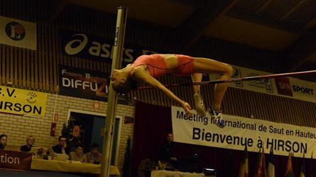 MEETING NATIONAL de SAUT en HAUTEUR d'HIRSON